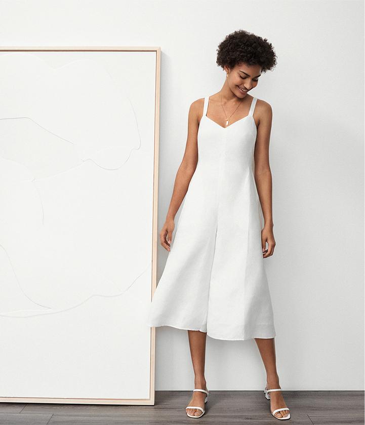Shop men's and women's linen.