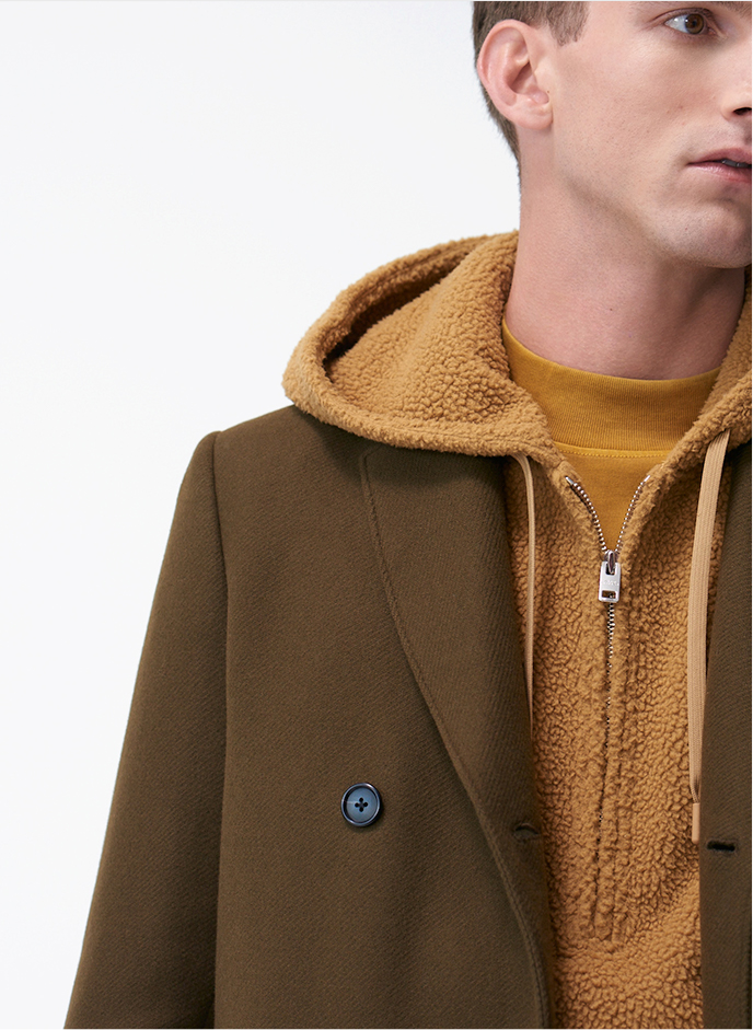 Essential wool outerwear, sweaters, and jackets