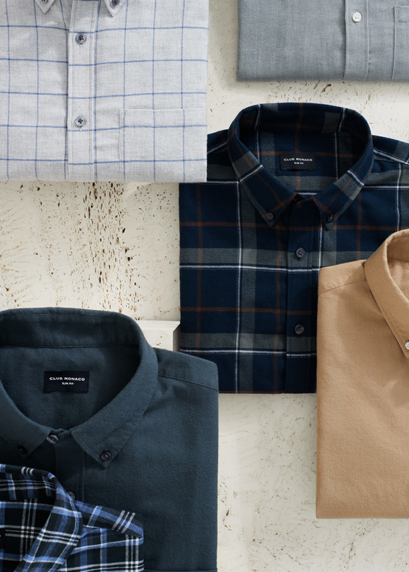Shop fall's favorite shirts including our newest collection of flannels.